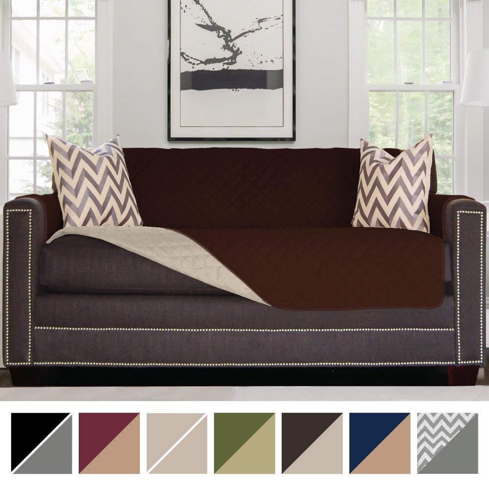 Super hidden Easy Ways Working Pet Sofa Cover Reversible Protect